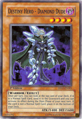 Destiny Hero - Diamond Dude - DP05-EN003 - Common - Unlimited Edition on Channel Fireball