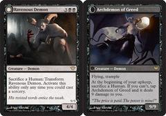 Ravenous Demon // Archdemon of Greed - Foil