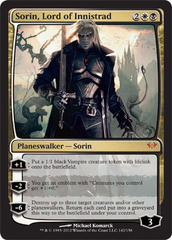 Sorin, Lord of Innistrad - Foil on Ideal808