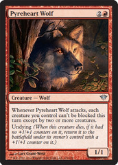 Pyreheart Wolf - Foil on Ideal808