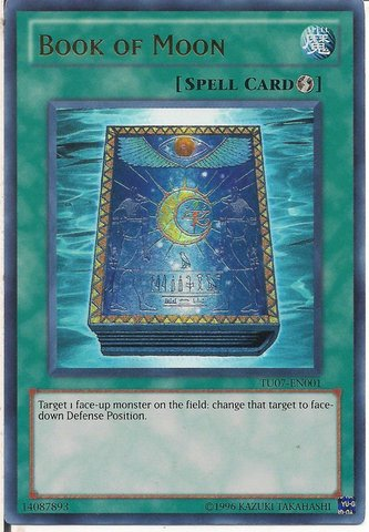 Book of Moon - TU07-EN001 - Ultra Rare - Unlimited Edition