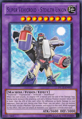 Super Vehicroid - Stealth Union - Purple - DL12-EN011 - Rare - Promo Edition