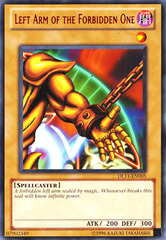Left Arm of the Forbidden One - Red - DL11-EN005  - Rare - Promo Edition