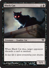 Black Cat - Foil on Channel Fireball