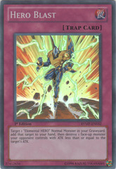 Hero Blast - RYMP-EN032 - Super Rare - 1st Edition