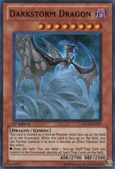 Darkstorm Dragon - ORCS-EN037 - Super Rare - Unlimited Edition on Channel Fireball