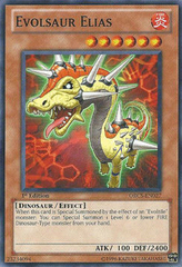 Evolsaur Elias - ORCS-EN027 - Common - Unlimited Edition