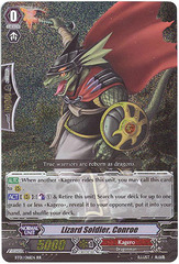Lizard Soldier, Conroe - BT01/016EN - RR on Channel Fireball