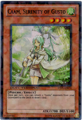 Caam, Serenity of Gusto - DT05-EN074 - Super Parallel Rare - Duel Terminal