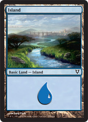Island (235) on Channel Fireball