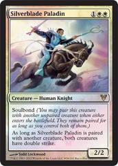 Silverblade Paladin (Avacyn Restored Box Promo) on Channel Fireball