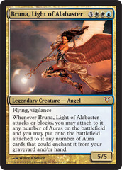 Bruna, Light of Alabaster - Foil on Channel Fireball