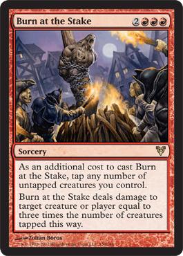 Burn at the Stake - Foil