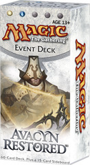 Avacyn Restored Event Deck: Humanity's Vengeance on Channel Fireball