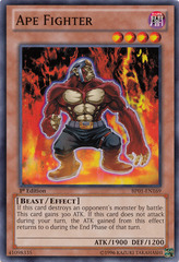 Ape Fighter - BP01-EN169 - Common - 1st Edition