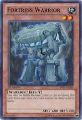 Fortress Warrior - BP01-EN206 - Common - 1st Edition