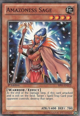 Amazoness Sage - BP01-EN212 - Starfoil Rare - 1st Edition on Channel Fireball