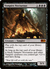 Vampire Nocturnus - Foil on Channel Fireball
