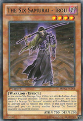 The Six Samurai - Irou - SDWA-EN008 - Common - 1st Edition on Channel Fireball