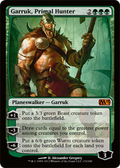 Garruk, Primal Hunter - Foil on Channel Fireball