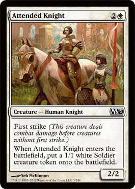 Attended Knight - Foil