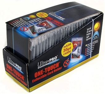 35pt. UV One-Touch Card Holder Magnetic Close Box of 25