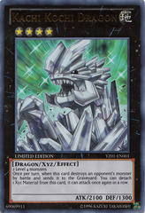 Kachi Kochi Dragon - YZ01-EN001 - Ultra Rare - Limited Edition on Channel Fireball