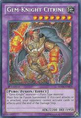Gem-Knight Citrine - HA06-EN019 - Secret Rare - 1st Edition on Channel Fireball