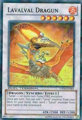 Lavalval Dragun - DT06-EN084 - Super Rare - Unlimited Edition