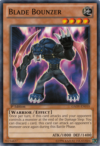 Blade Bounzer - GAOV-EN010 - Common - Unlimited Edition
