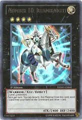 Number 10: Illumiknight - PHSW-EN041 - Ultra Rare - Unlimited Edition