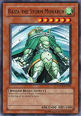 Raiza the Storm Monarch - FOTB-EN026 - Super Rare - 1st Edition