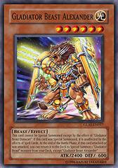 Gladiator Beast Alexander - GLAS-EN017 - Super Rare - 1st Edition