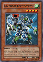 Gladiator Beast Secutor - GLAS-EN024 - Common - 1st Edition