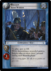 Balglin, Elven Warrior - Foil