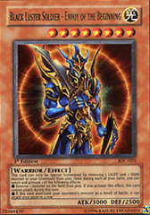 Black Luster Soldier - Envoy of the Beginning - IOC-025 - Ultra Rare - 1st Edition