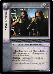 A Path Appointed - Foil