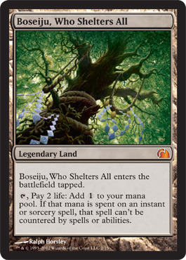 Boseiju, Who Shelters All - Foil