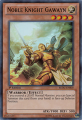 Noble Knight Gawayn - REDU-EN000 - Super Rare - 1st Edition
