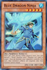 Blue Dragon Ninja - REDU-EN083 - Super Rare - 1st Edition
