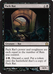 Pack Rat - Foil on Channel Fireball