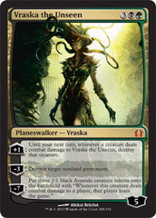 Vraska the Unseen - Foil on Ideal808