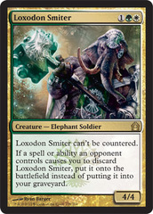 Loxodon Smiter - Foil on Channel Fireball