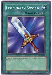 Legendary Sword - LOB-040 - Common - 1st Edition