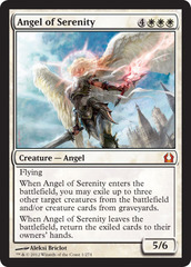 Angel of Serenity on Channel Fireball