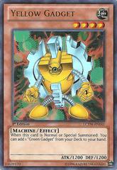 Yellow Gadget - LCYW-EN041 - Ultra Rare - 1st Edition