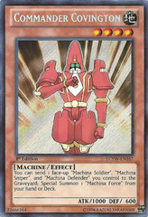 Commander Covington - LCYW-EN167 - Secret Rare - 1st Edition
