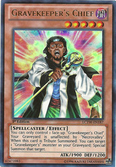Gravekeeper's Chief - LCYW-EN187 - Ultra Rare - 1st Edition