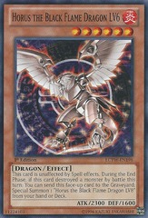 Horus the Black Flame Dragon LV6 - LCYW-EN198 - Common - 1st Edition