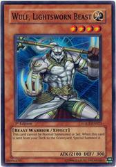 Wulf, Lightsworn Beast - LODT-EN023 - Super Rare - 1st Edition